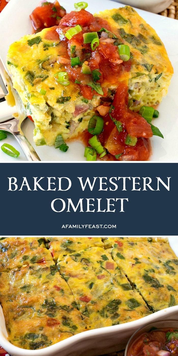 Baked Western Omelet Casserole