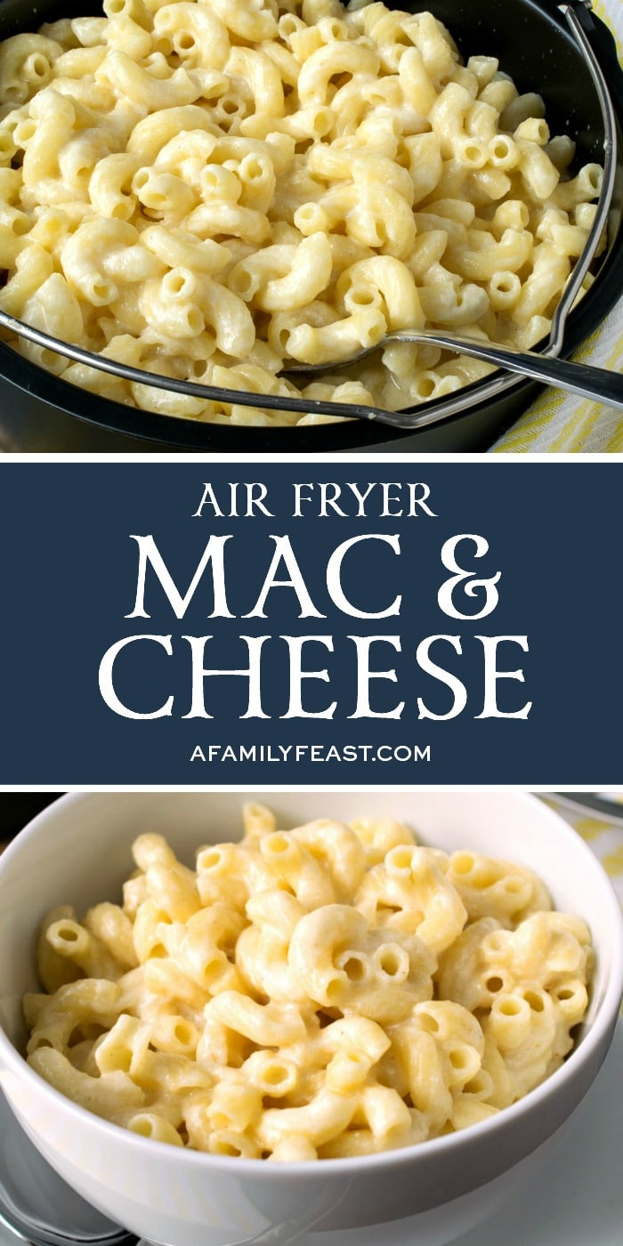 Air Fryer Mac & Cheese