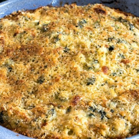 Kale Fennel & Rice Gratin
