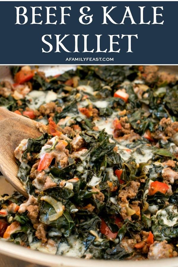 Keto Beef & Kale Skillet