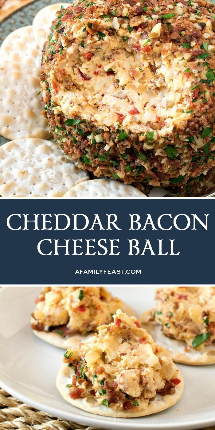 Cheddar Bacon Cheese Ball