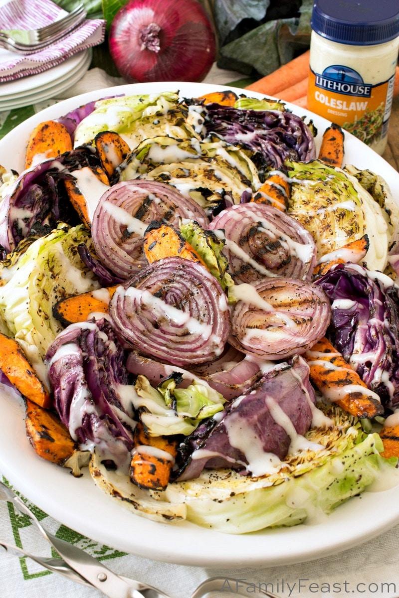 Grilled Coleslaw