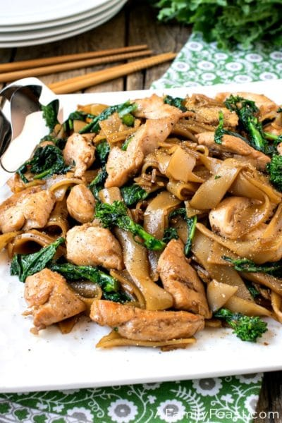 Pad See Ew - Thai Fried Noodles