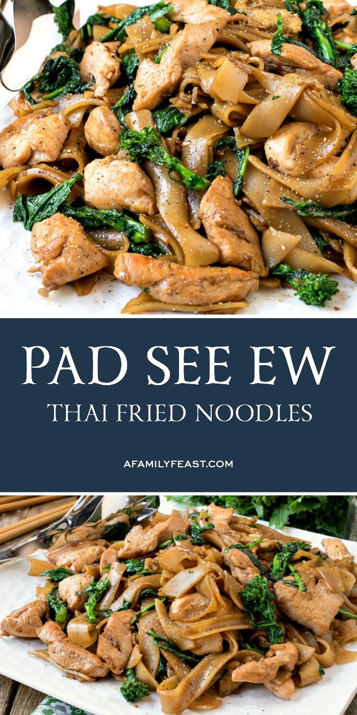 Pad See Ew - Thai Fried Noodles