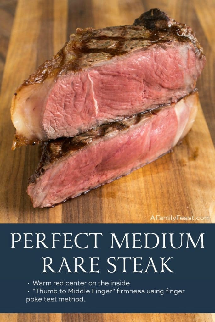 Perfect Medium Rare Steak