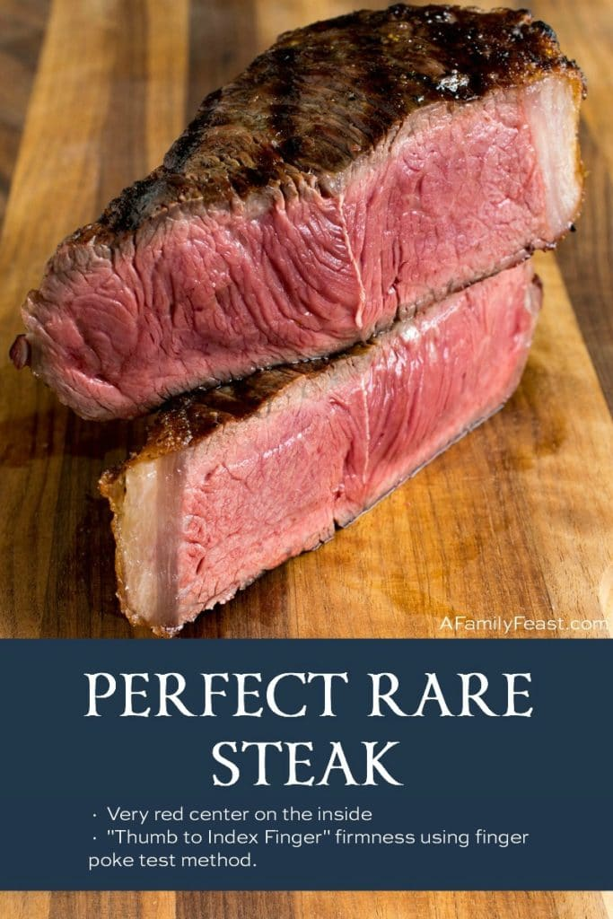 Perfect Rare Steak