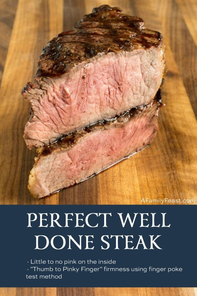 Perfect Well Done Steak