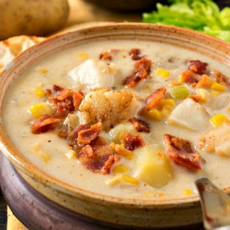 Scallop Corn Chowder