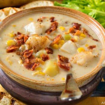 Scallop Corn Chowder