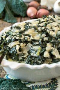 Creamed Tuscan Kale