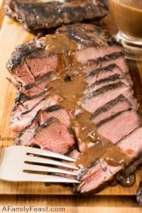 Sous Vide Grill-Seared Chuck Steak - A Family Feast