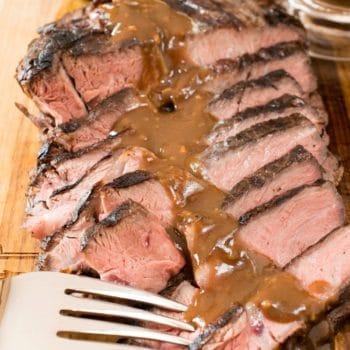 Sous Vide Grill-Seared Chuck Steak - A Family Feast