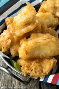 Tempura Fish Nuggets