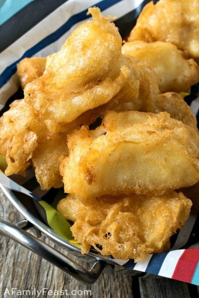 Tempura Fish Nuggets