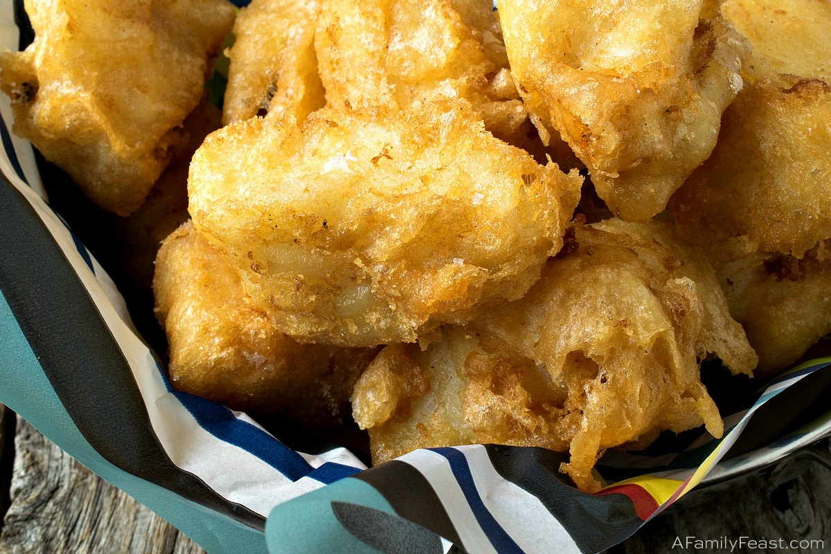 Tempura Fish Nuggets A Family Feast