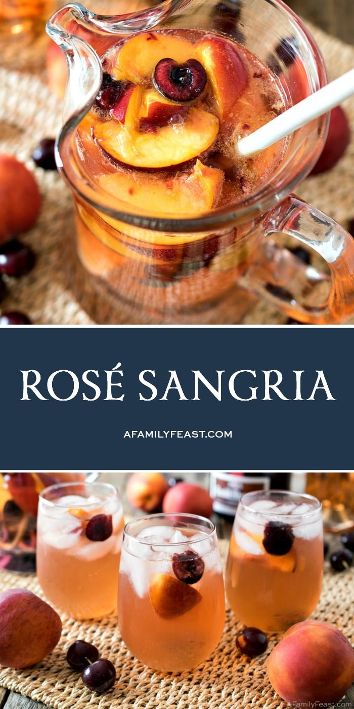 Rose' Sangria