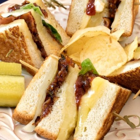 Grilled Cheese Club Sandwich