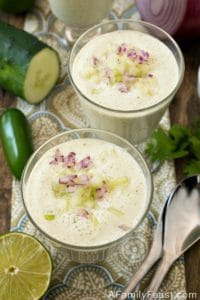 Cold Mexican Cucumber Soup