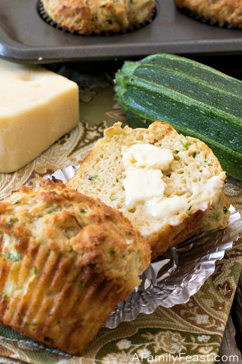 Savory Keto Zucchini Cheese