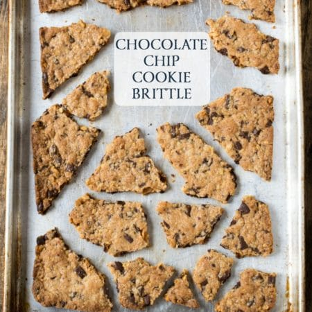 Chocolate Chip Cookie Brittle