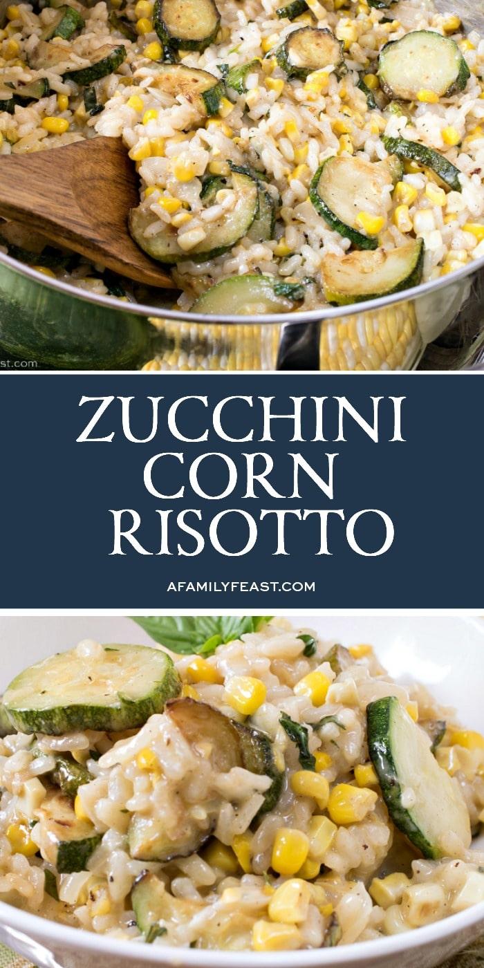 Zucchini Corn Risotto