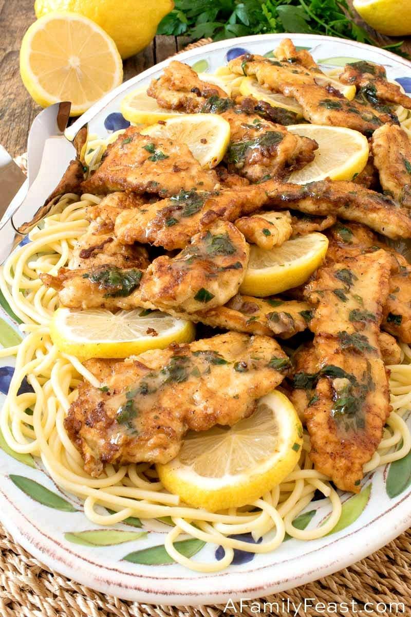 Chicken Limone