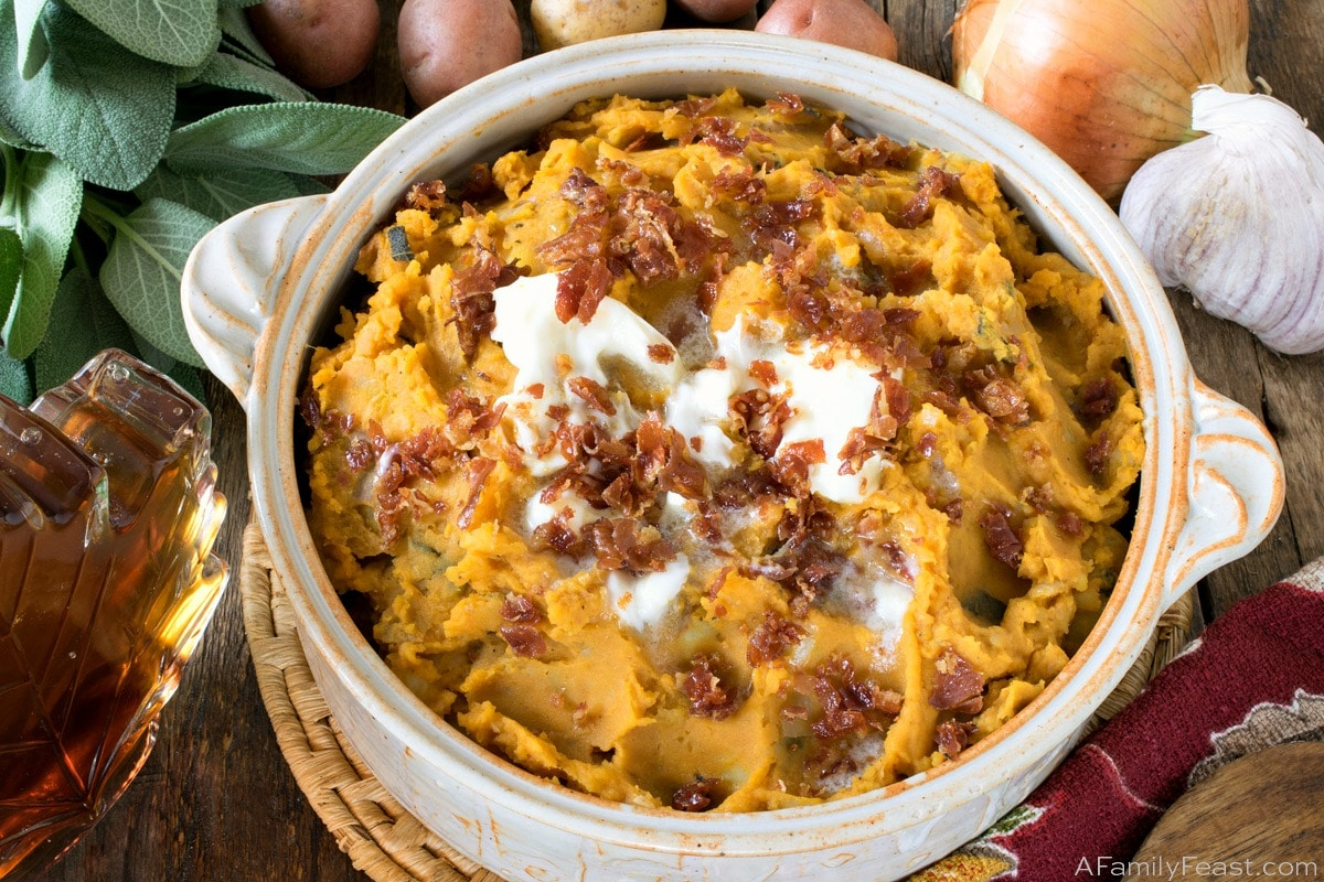 Pumpkin Mashed Potatoes