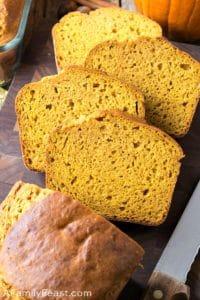 Sweetened Condensed Milk Pumpkin Bread