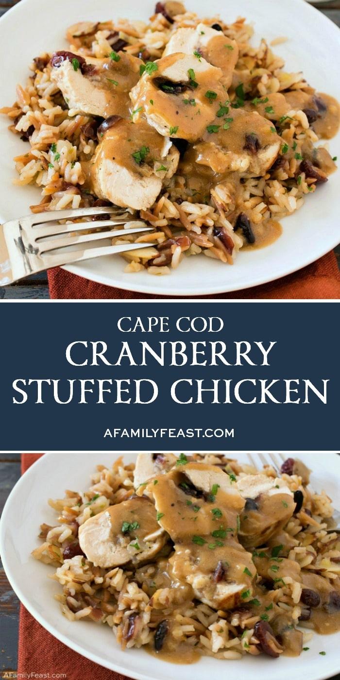 Cape Cod Cranberry Stuffed Chicken