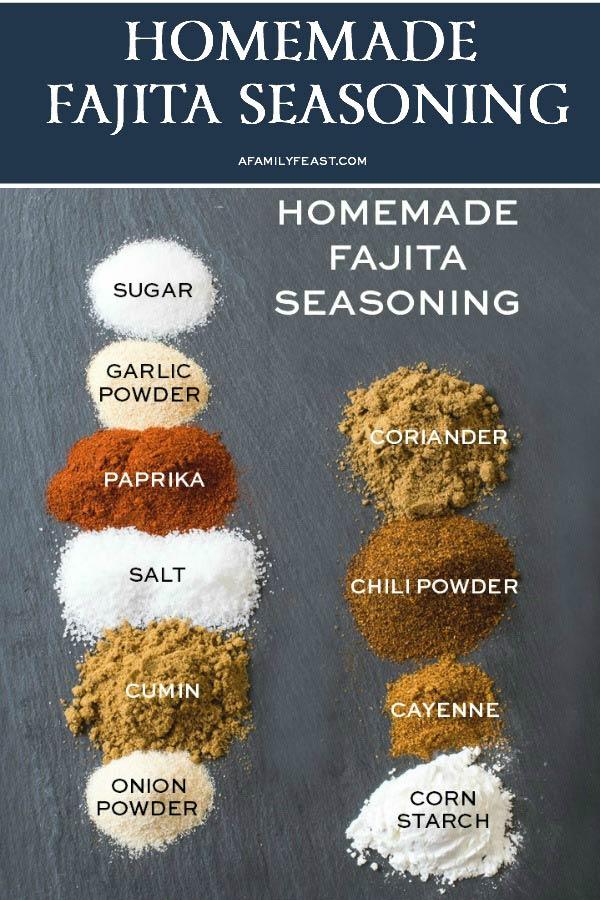 Fajita Seasoning Ingredients