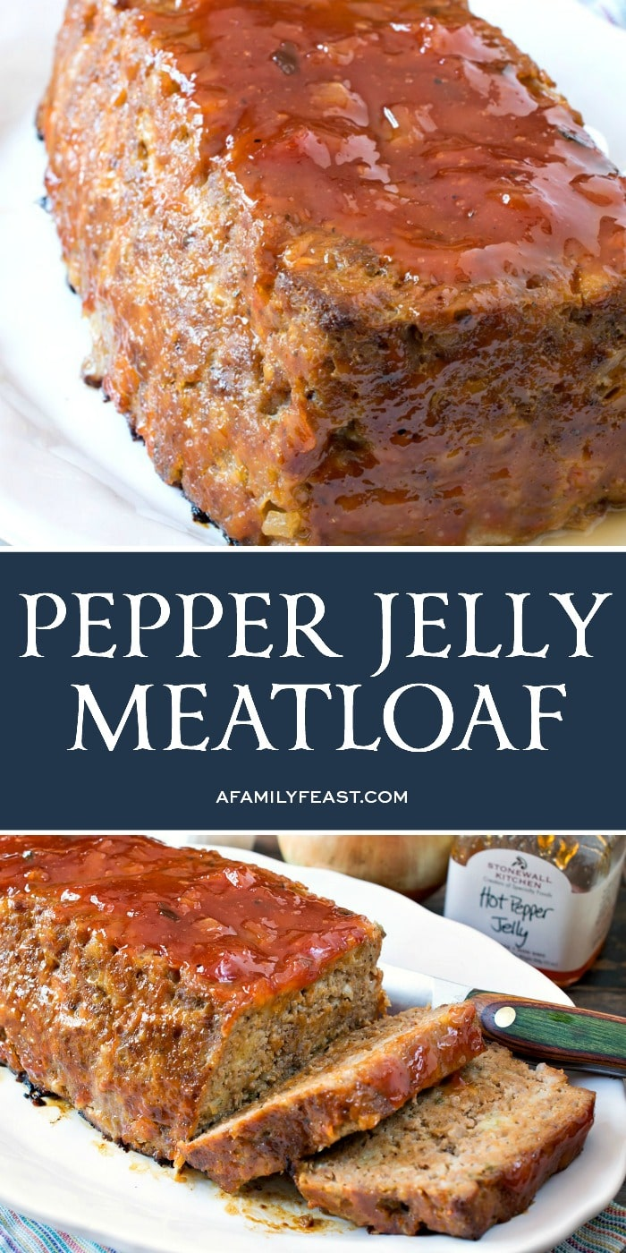 Pepper Jelly Meatloaf