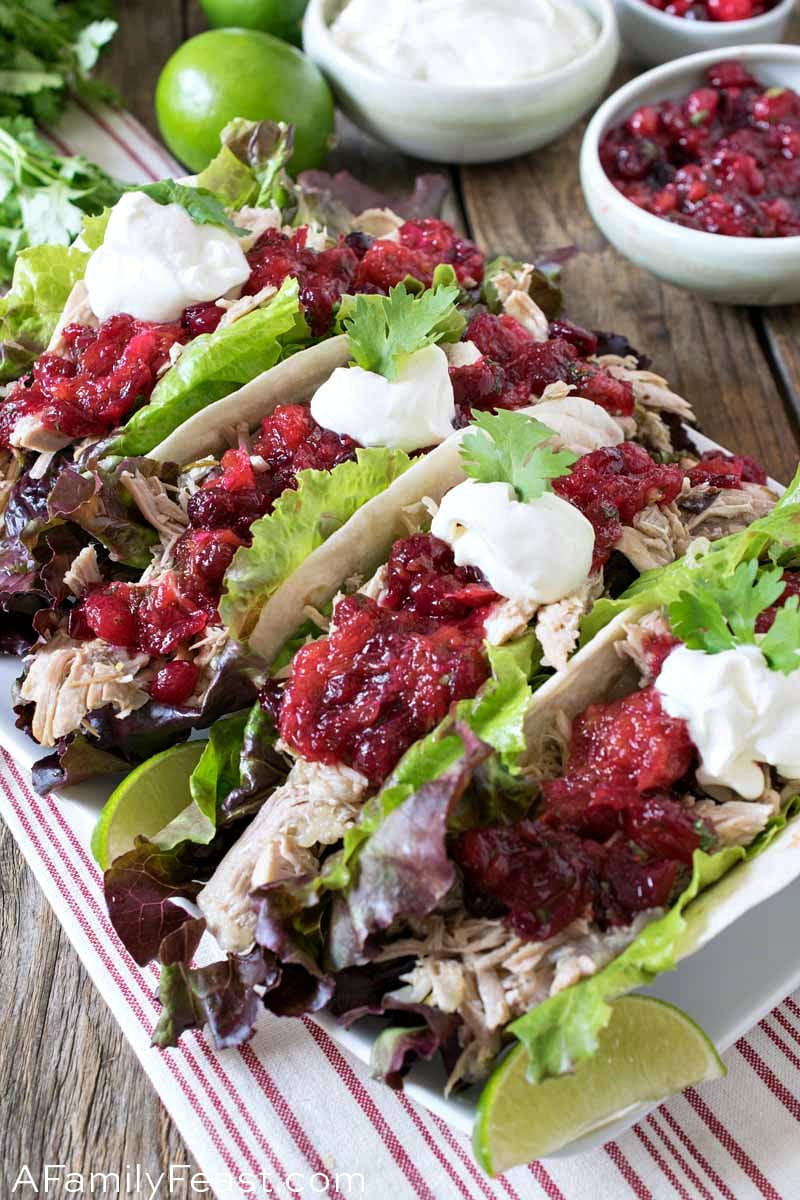 Pulled Turkey Tacos