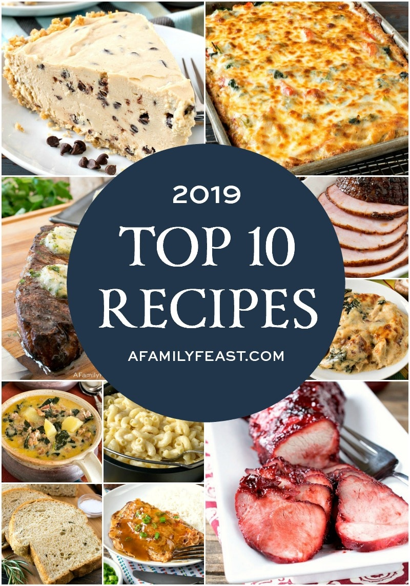 A Family Feast: Top 10 Recipes of 2019
