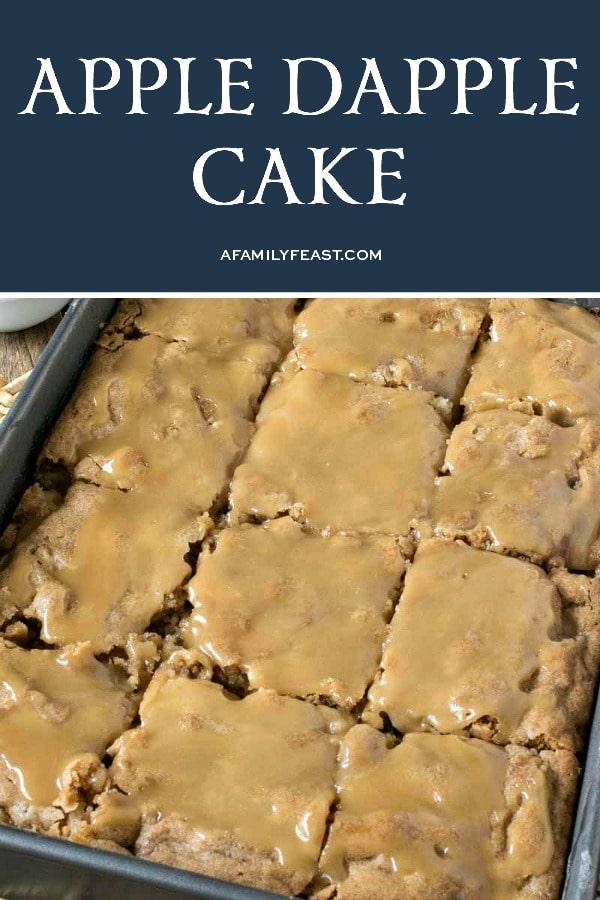 Apple Dapple Cake - A Family Feast
