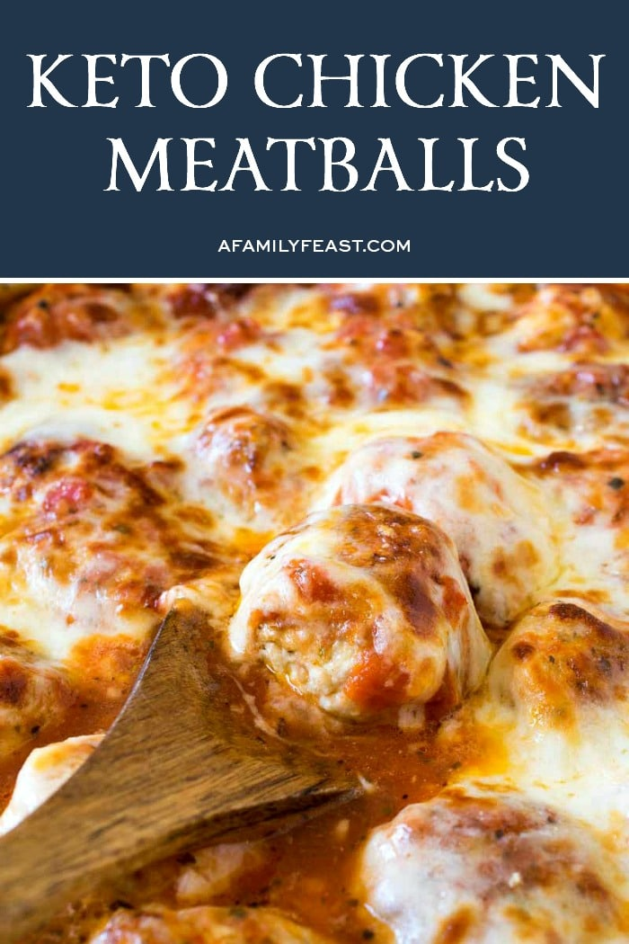 Keto Chicken Meatballs