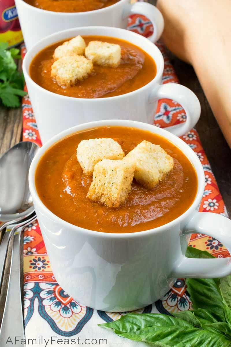 Butternut Tomato Soup
