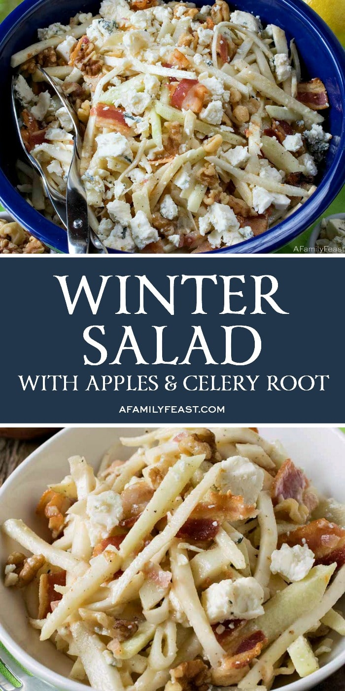 Winter Salad with Apples and Celery Root