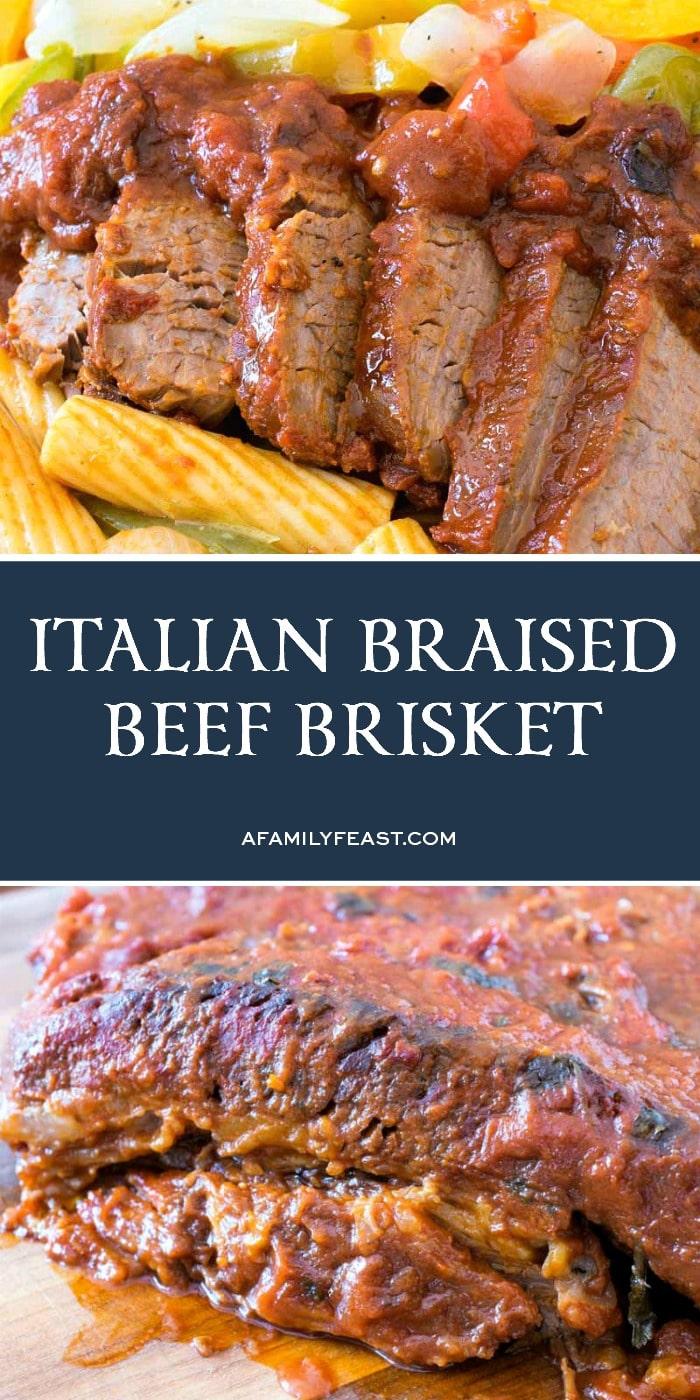 Italian Braised Brisket