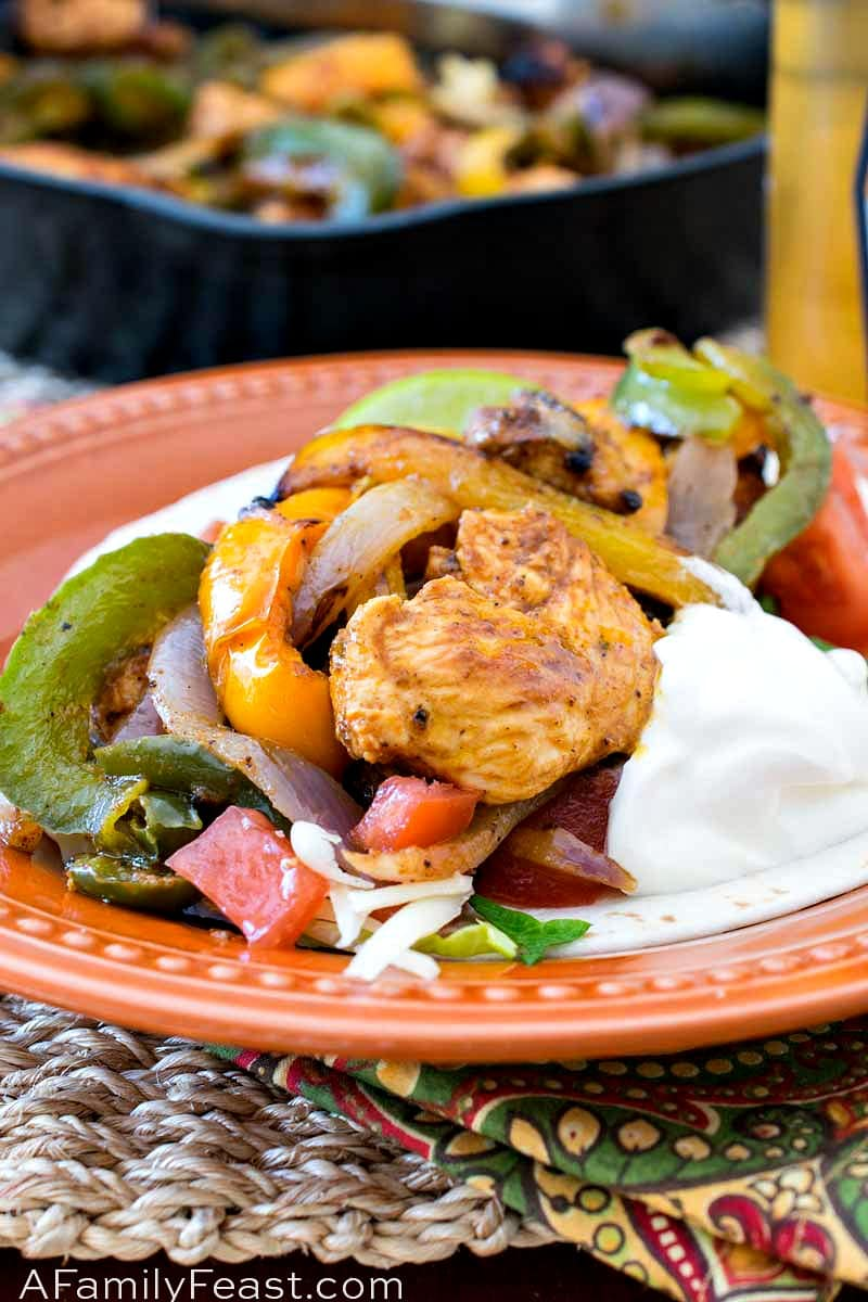 Chicken Fajitas