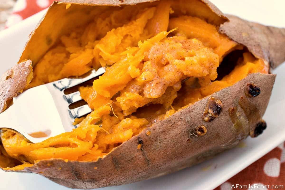 How To Bake A Sweet Potato A Family Feast
