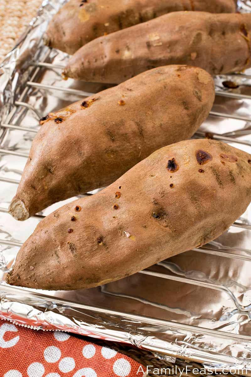 How to Bake a Sweet Potato