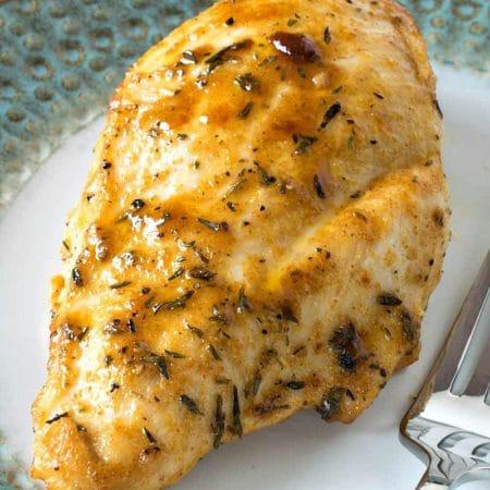 Pan Seared Boneless Chicken Breasts