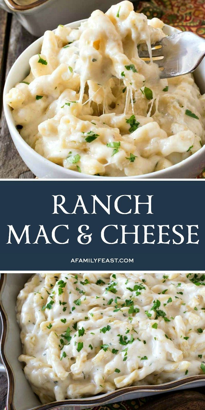Ranch Macaroni and Cheese - A Family Feast