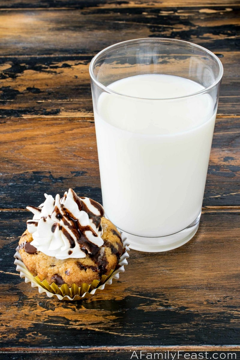 Milk and Cookies Dessert Flight - A Family Feast
