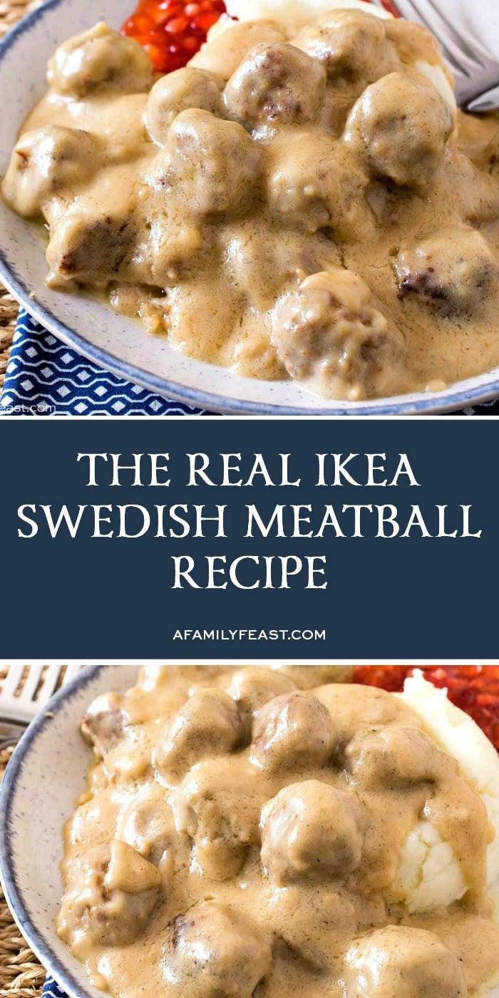 The Real IKEA Swedish Meatballs Recipe