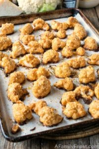 Baked Breaded Cauliflower