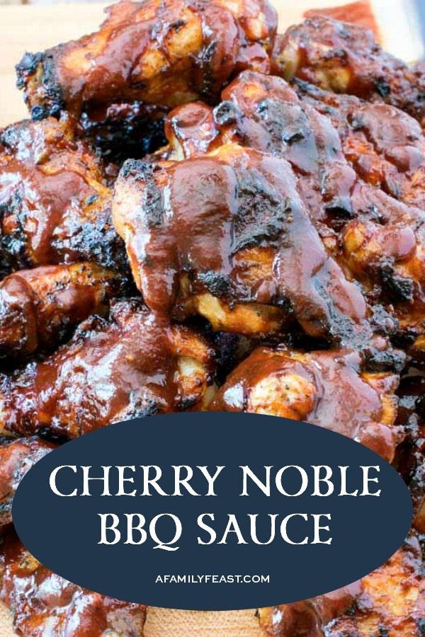 Cherry Noble BBQ Sauce