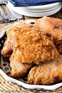 Fried Boneless Skinless Chicken Breasts