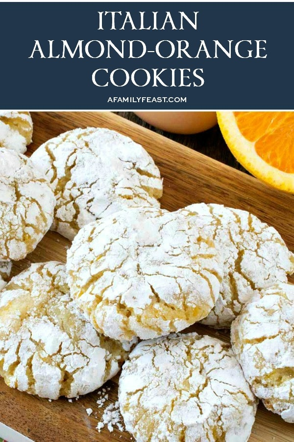 Italian Almond-Orange Cookies