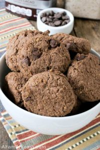 low carb chocolate chocolate chip cookies
